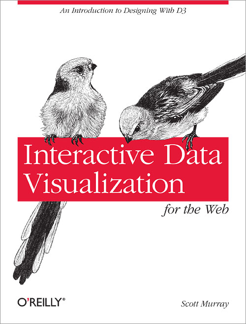 Book cover - interactive visualisation for the web