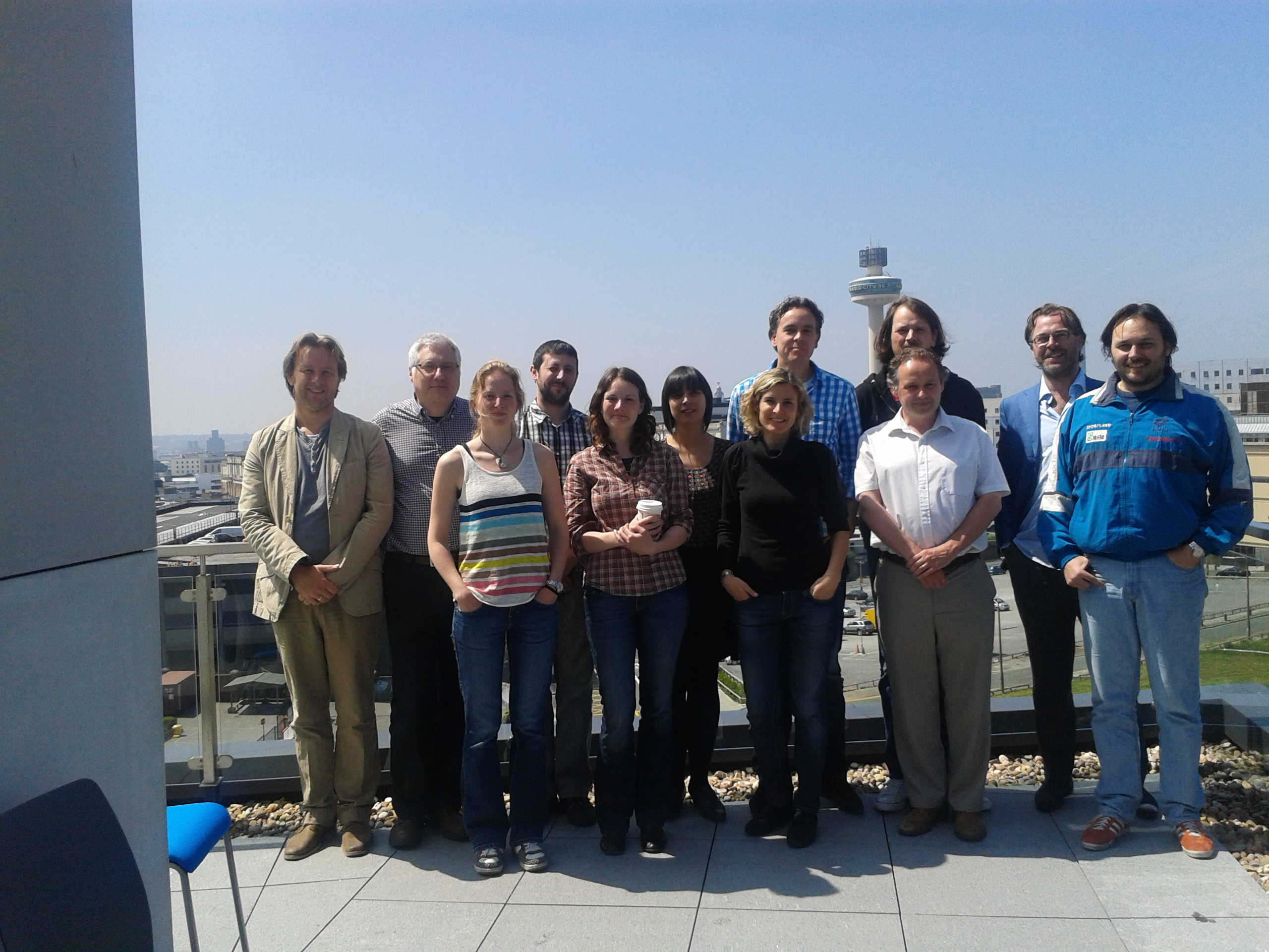 NewsReader FP7 Project Team Photo in Liverpool June 2013