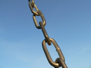 Chain Linkage by Max Klingensmith is licensed under CC BY-ND 2.0``